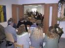 Aus der Anfangszeit: Einweihung der Gemeinderäume - 23.9.2001